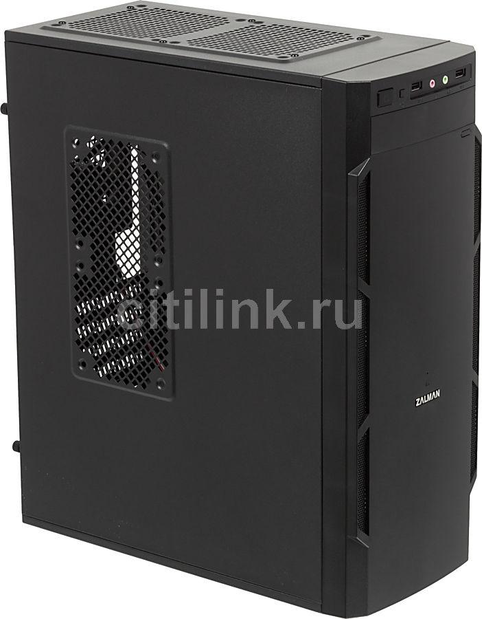 Корпус mATX ZALMAN T1, Mini-Tower, без БП,  черный