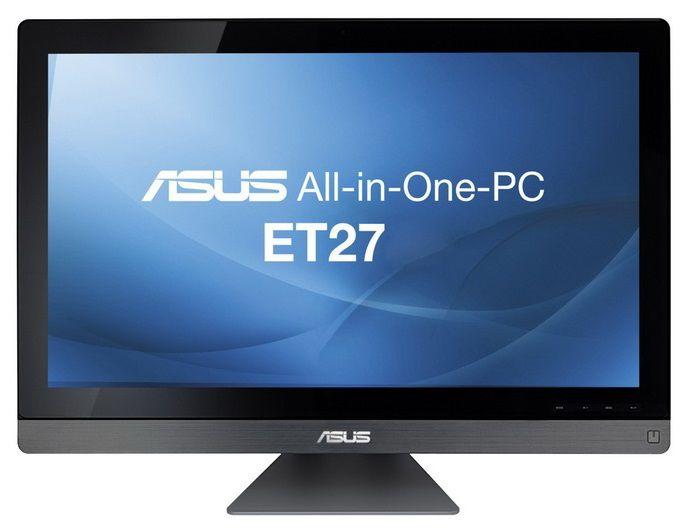 Моноблок ASUS ET2701INKI, Intel Core i7 3770S, 8Гб, 2Тб, nVIDIA GeForce GT640 - 2048 Мб, Blu-Ray, Windows 8, черный [90pt00d1002240q]