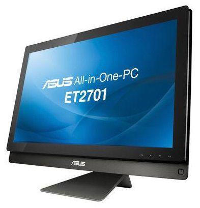 Моноблок ASUS ET2701INKI, Intel Core i5 3450, 6Гб, 2Тб, nVIDIA GeForce GT640 - 2048 Мб, Blu-Ray, Windows 8, черный [90pt00d1002250q]