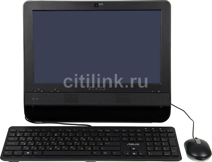 Моноблок ASUS ET1612IUTS, Intel Celeron 847, 2Гб, 320Гб, Intel HD Graphics, noOS, черный [90pt00f1000430q]