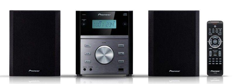 Музыкальный центр PIONEER X-EM11,  черный