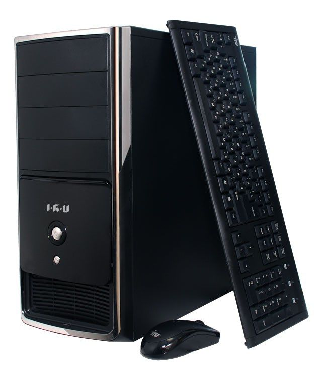 Компьютер  IRU Home 520,  AMD  641,  4Гб, 500Гб,   GeForce GT620 - 2048 Мб,  DVD-RW,  CR,  Free DOS