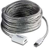Кабель TRENDnet TU2-EX12 USB-удлинитель 12 метров, предотвращающий затухание сигнала