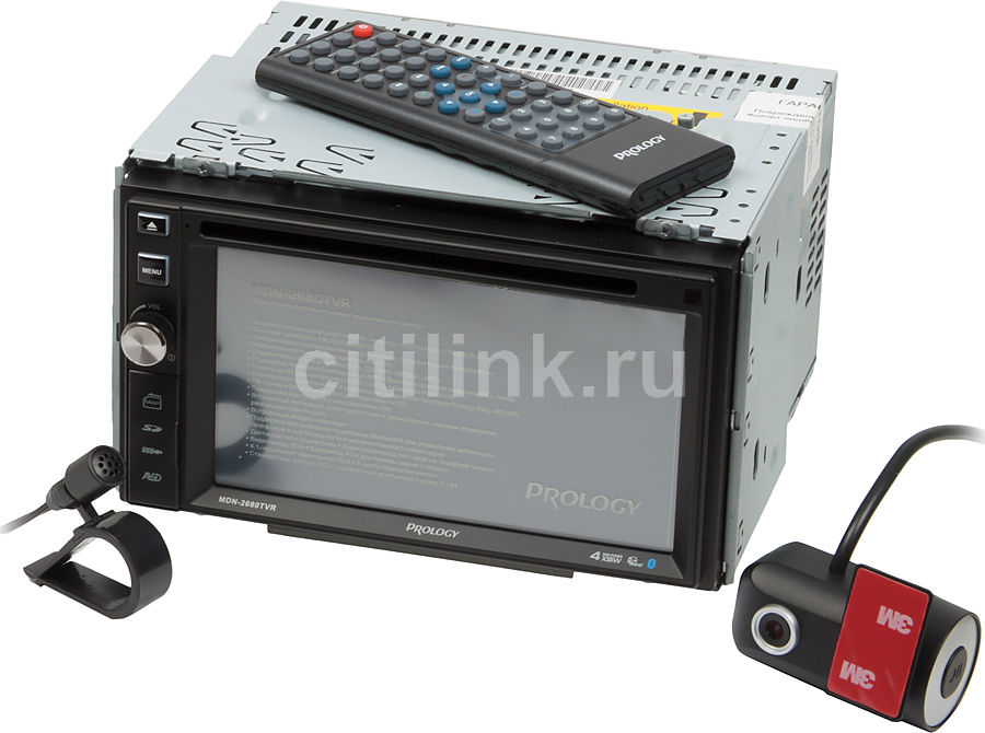 Автомагнитола PROLOGY MDN-2680T VR,  USB,  SDHC