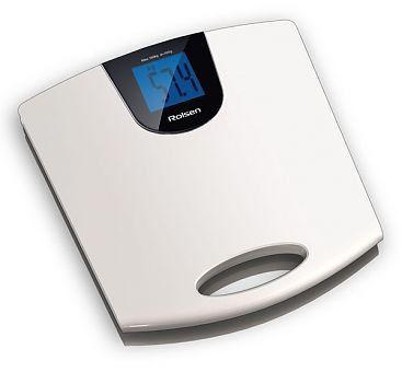 Весы ROLSEN RSL1514, до 150кг, цвет: белый
