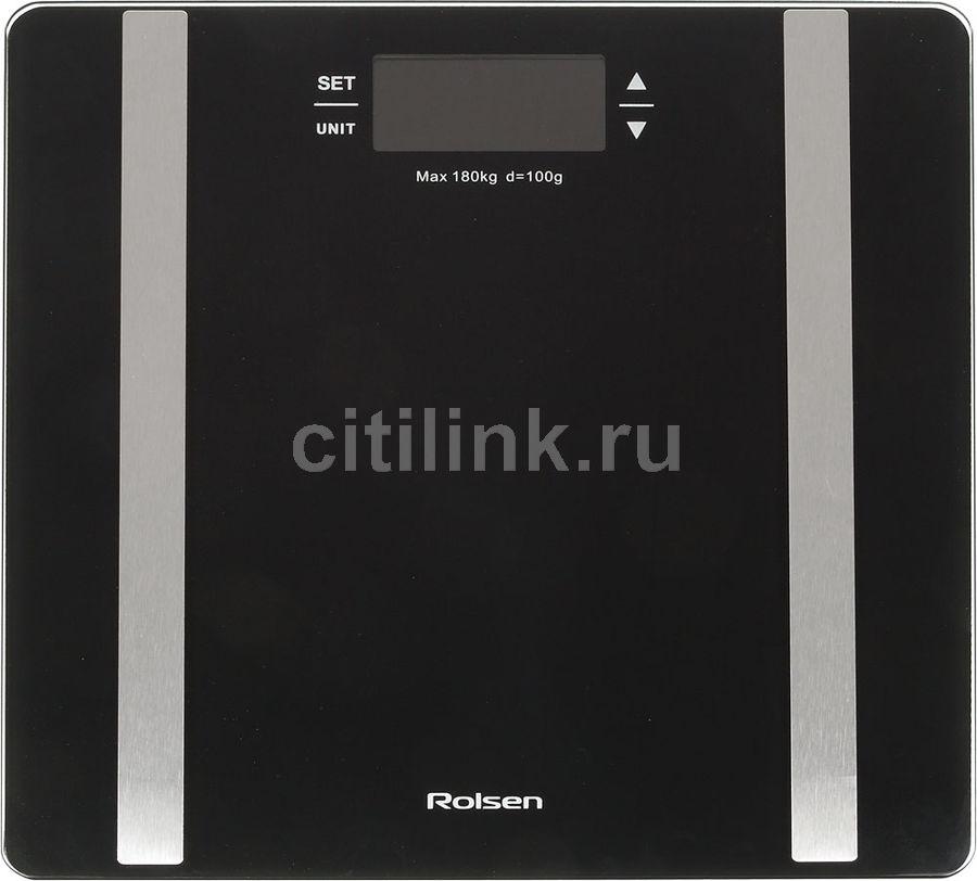 Напольные весы ROLSEN RSL1805, до 180кг