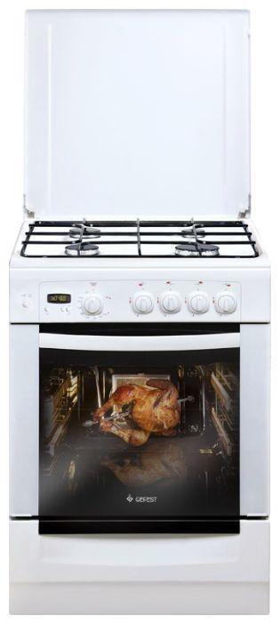 Газовая плита GEFEST 6100-03,  газовая духовка,  белый [пг 6100-03]