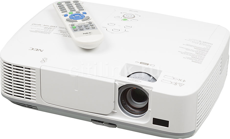 Проектор NEC M271X белый [m271x(g)]