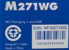 Проектор NEC M271W белый [m271wg] вид 13