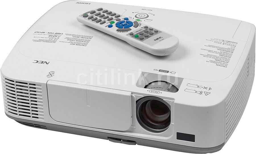 Проектор NEC M271W белый [m271wg]