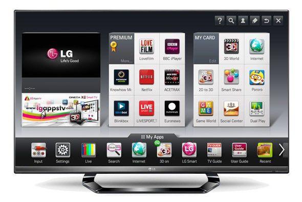 LED телевизор LG 55LM640T  55