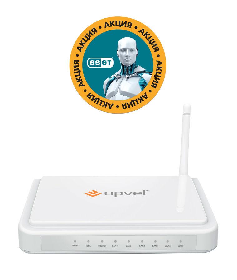 Беспроводной маршрутизатор UPVEL UR-314AN,  ADSL