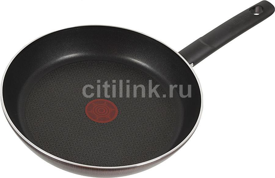 Сковорода TEFAL Evidence Moka 04011726, 260см, без крышки,  коричневый