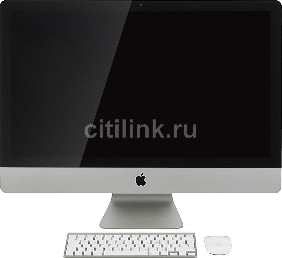 Моноблок APPLE iMac MD095RU/A, Intel Core i5, 6Гб, 1000Гб, nVIDIA GeForce GTX 660 - 512 Мб, Mac OS X, серебристый и черный