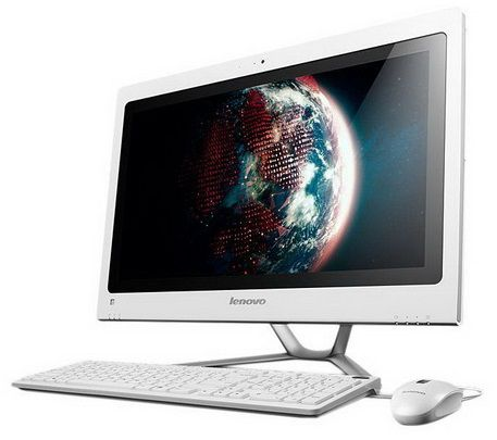 Моноблок LENOVO C540A2, Intel Core i5 3330S, 4Гб, 1000Гб, nVIDIA GeForce 615M - 2048 Мб, DVD-RW, Windows 8, белый [57310978]