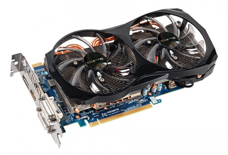 Видеокарта GIGABYTE GeForce GTX 660,  2Гб, GDDR5, Ret [gv-n660wf2-2gd]