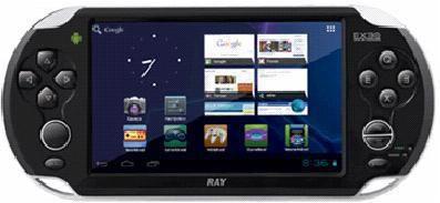 Игровая консоль  Exeq Ray, черный