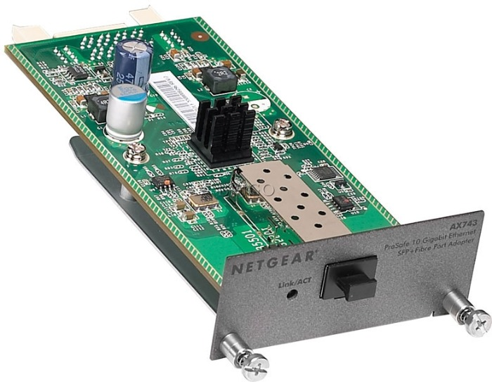 Модуль Netgear (AX743-10000S) 10G SFP+ для GSM73xxS/GS73xxSv2 и GSM7328FS