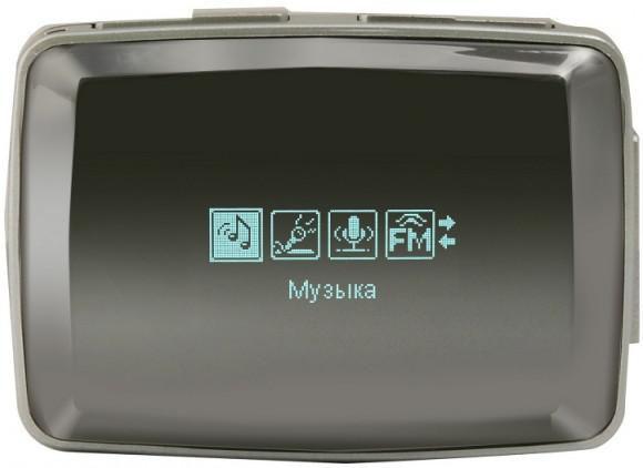 MP3 плеер EXPLAY L73 flash 4Гб черный [4025472]