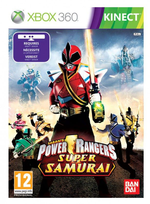 Игра SOFT CLUB Power Rangers Super Samurai для  Xbox360 Eng