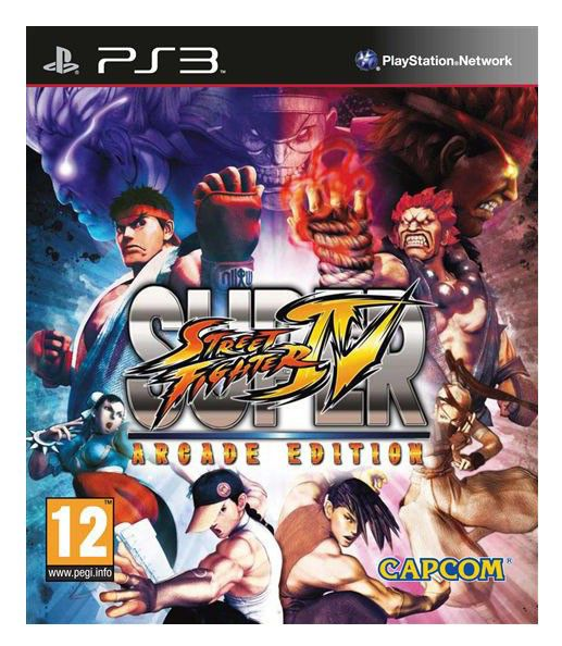 Игра SOFT CLUB Super Street Fighter IV Arcade Edition для  PlayStation3 Rus (документация)