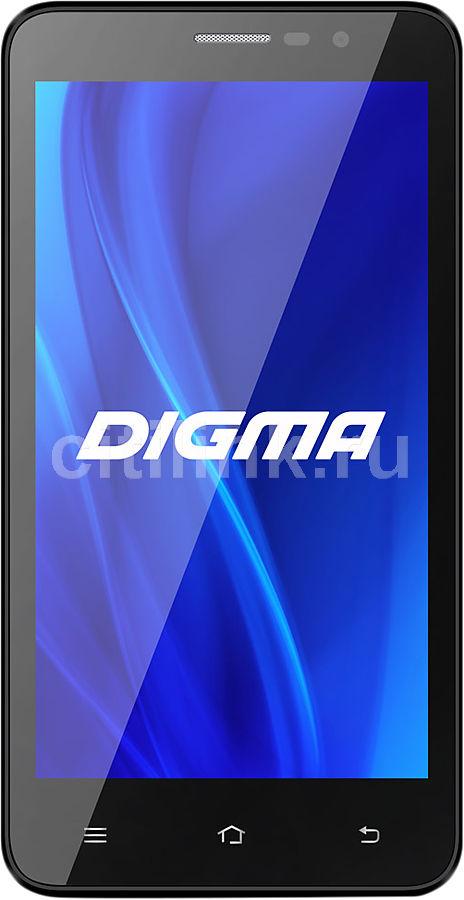 Смартфон DIGMA IDxQ 5 черный