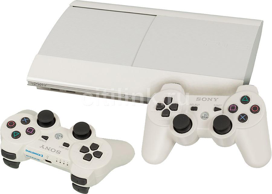 Игровая консоль SONY PlayStation 3 PS719271352, белый