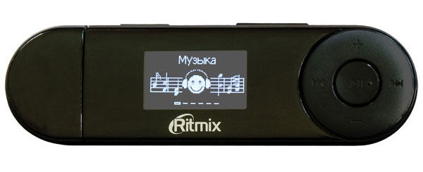 MP3 плеер RITMIX RF-3200 flash 8Гб черный