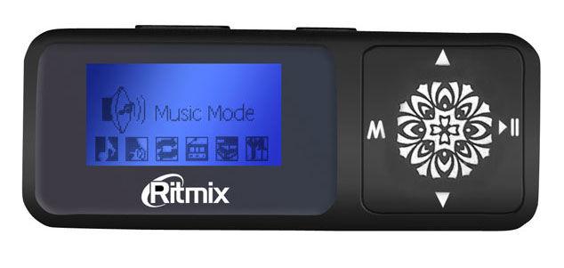 MP3 плеер RITMIX RF-3350 flash 8Гб черный [15114364]