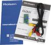 Ресивер DVB-T2 ROLSEN RDB-502N,  черный вид 6