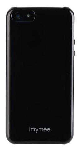 Чехол (клип-кейс) IMYMEE LOCO, для Apple iPhone 5, черный [i5c51101-bk]