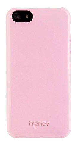 Чехол (клип-кейс) IMYMEE LOCO (I5C51101-PK), для Apple iPhone 5, розовый