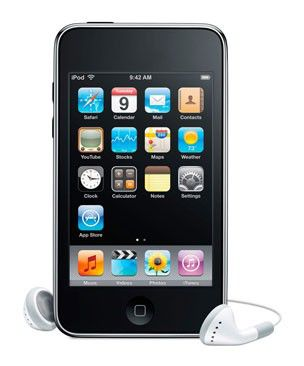 MP3 плеер APPLE iPod Touch 4 flash 16Гб черный [me178]