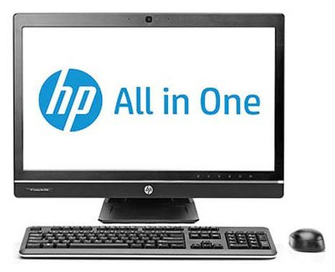 Моноблок HP Pro 8300, Intel Core i7 3770, 4Гб, 500Гб, 24Гб SSD,  Intel HD Graphics 4000, DVD-RW, Windows 7 Professional, черный [c2z27ea]