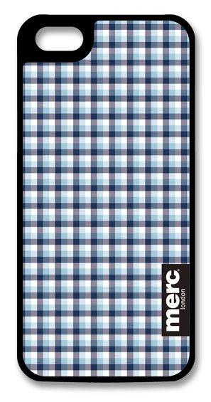 Чехол (клип-кейс) MERC Fabric (A-P50HF-H03007), для Apple iPhone 5, синий