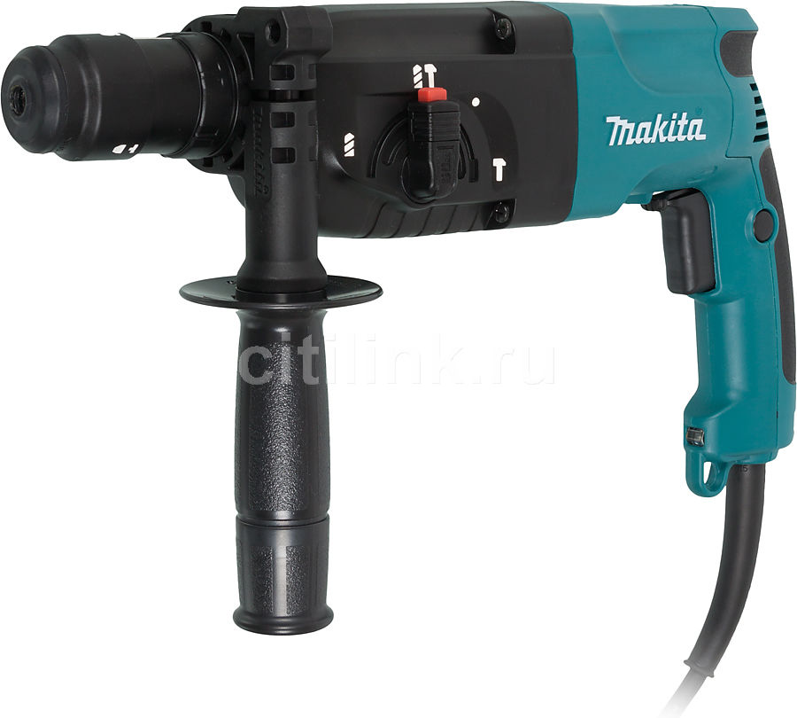 Перфоратор MAKITA HR2450FT  перфоратор sds plus makita hr2611ft x5