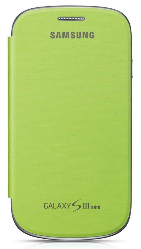 Чехол (флип-кейс) SAMSUNG EFC-1M7FME, для Samsung Galaxy S III mini, зеленый [efc-1m7fmegstd]
