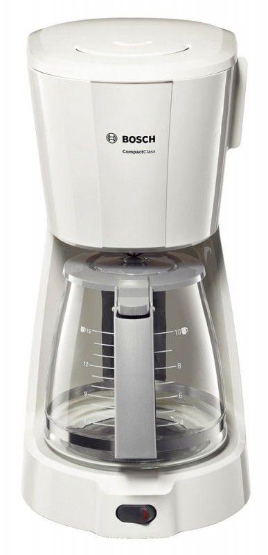 Кофеварка BOSCH TKA3A011,  капельная,  белый