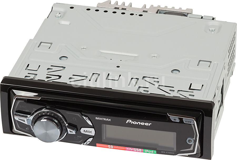 Автомагнитола PIONEER DEH-X7500SD,  USB,  SD