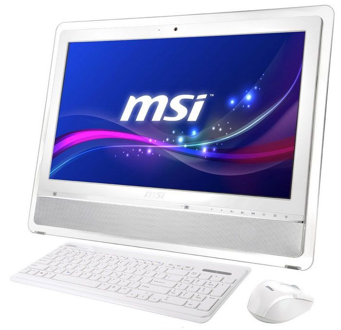 Моноблок MSI AE2410G-260, Intel Pentium Dual-Core B970, 4Гб, 1000Гб, nVIDIA GeForce GT630M - 1024 Мб, DVD-RW, Windows 7 Home Premium, белый и серебристый [9s6-ae3212-260]