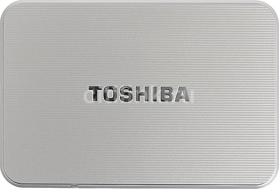 Внешний жесткий диск TOSHIBA STOR.E EDITION PX1800E-1J0A, 1Тб, серебристый