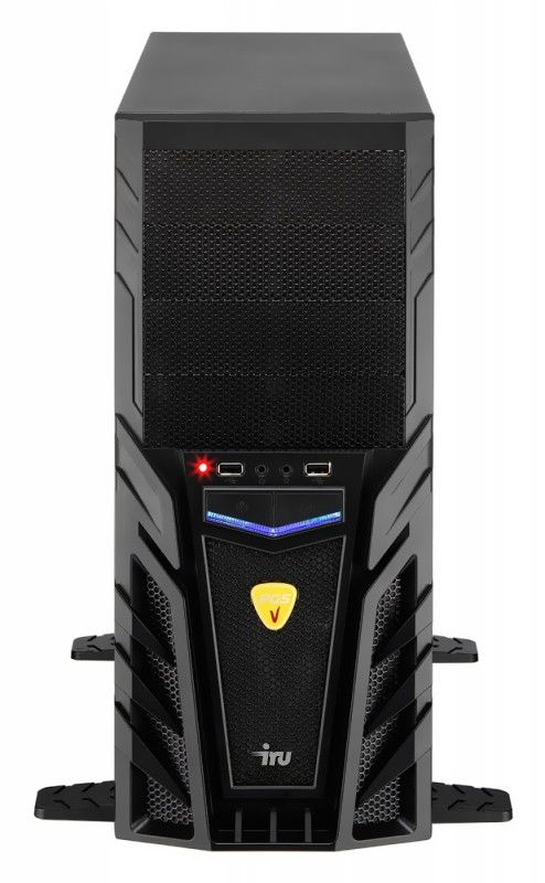 Компьютер  IRU Home 729,  AMD  FX  4100,  DDR3 8Гб, 1Тб,  AMD Radeon HD 7770 - 1024 Мб,  DVD-RW,  noOS,  черный