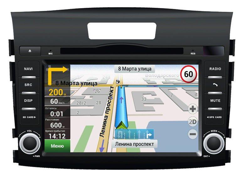 Автомагнитола VELAS V-HCRV,  Honda CR-V (2012+),  USB,  SD