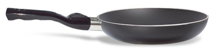 Сковорода PENSOFAL Genius Platino PEN9860, 200см, съемная ручка,  без крышки,  черный