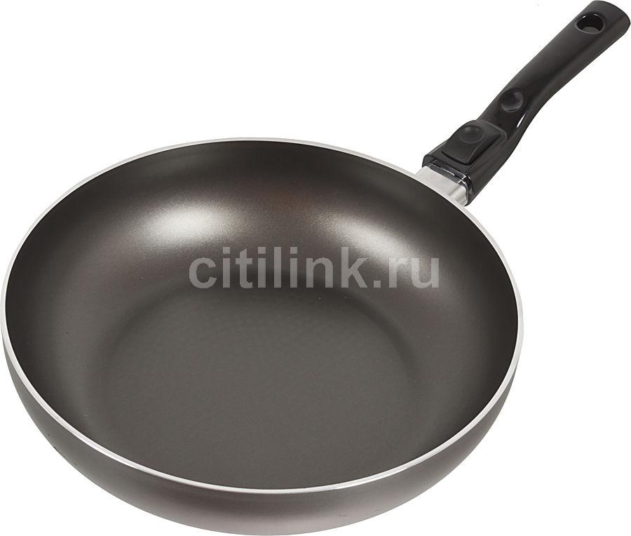 Сковорода PENSOFAL Genius Platino PEN9867, 280см, съемная ручка,  без крышки,  черный [pen9867 ]