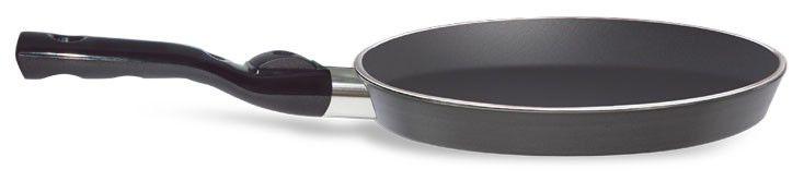 Сковорода блинная PENSOFAL Genius Platino PEN9872, 270см, съемная ручка,  без крышки,  черный