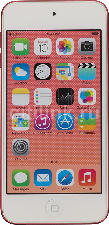 MP3 плеер APPLE iPod touch 5 flash 64Гб розовый/белый [mc904ru/a]