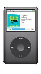 MP3 плеер APPLE iPod Classic hdd 160Гб черный [mc297qb/a]