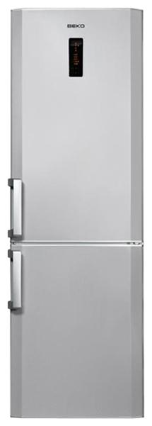 Холодильник BEKO CN 328220 S,  двухкамерный,  серебристый