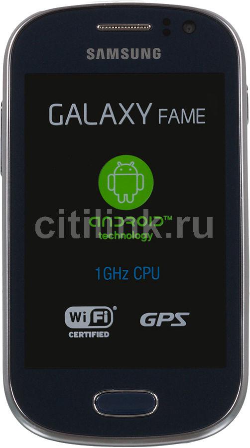 Смартфон SAMSUNG Galaxy Fame GT-S6810  синий